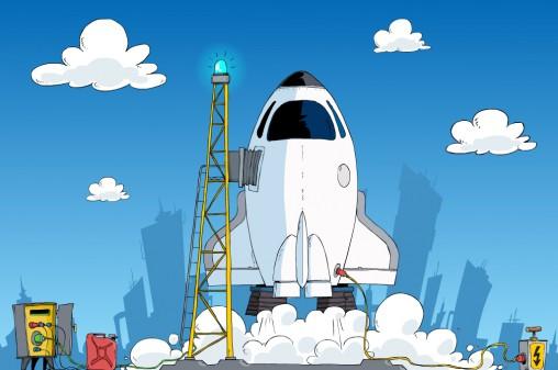 projekt ekranu startowego