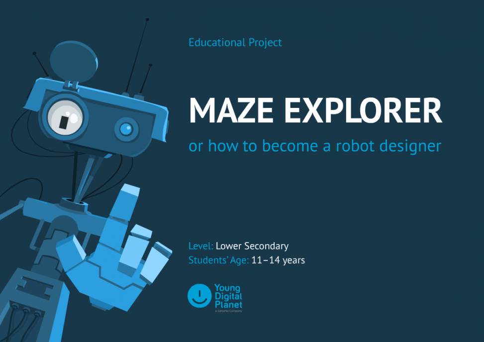 Maze explorer – okładka