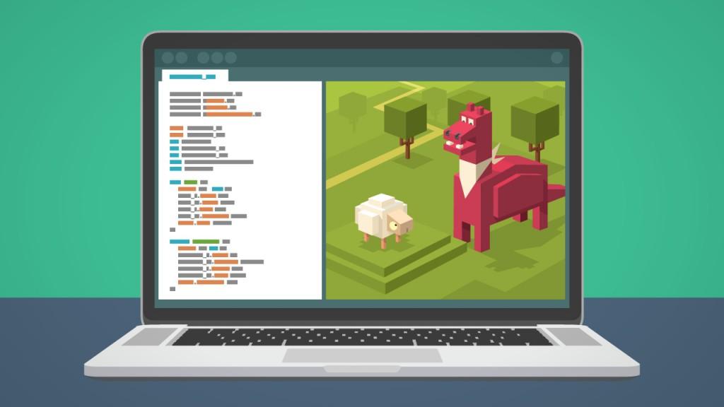 scena z animacji o kodowaniu