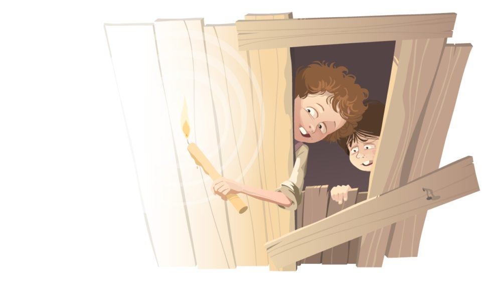 Tomek Sawyer ilustracja